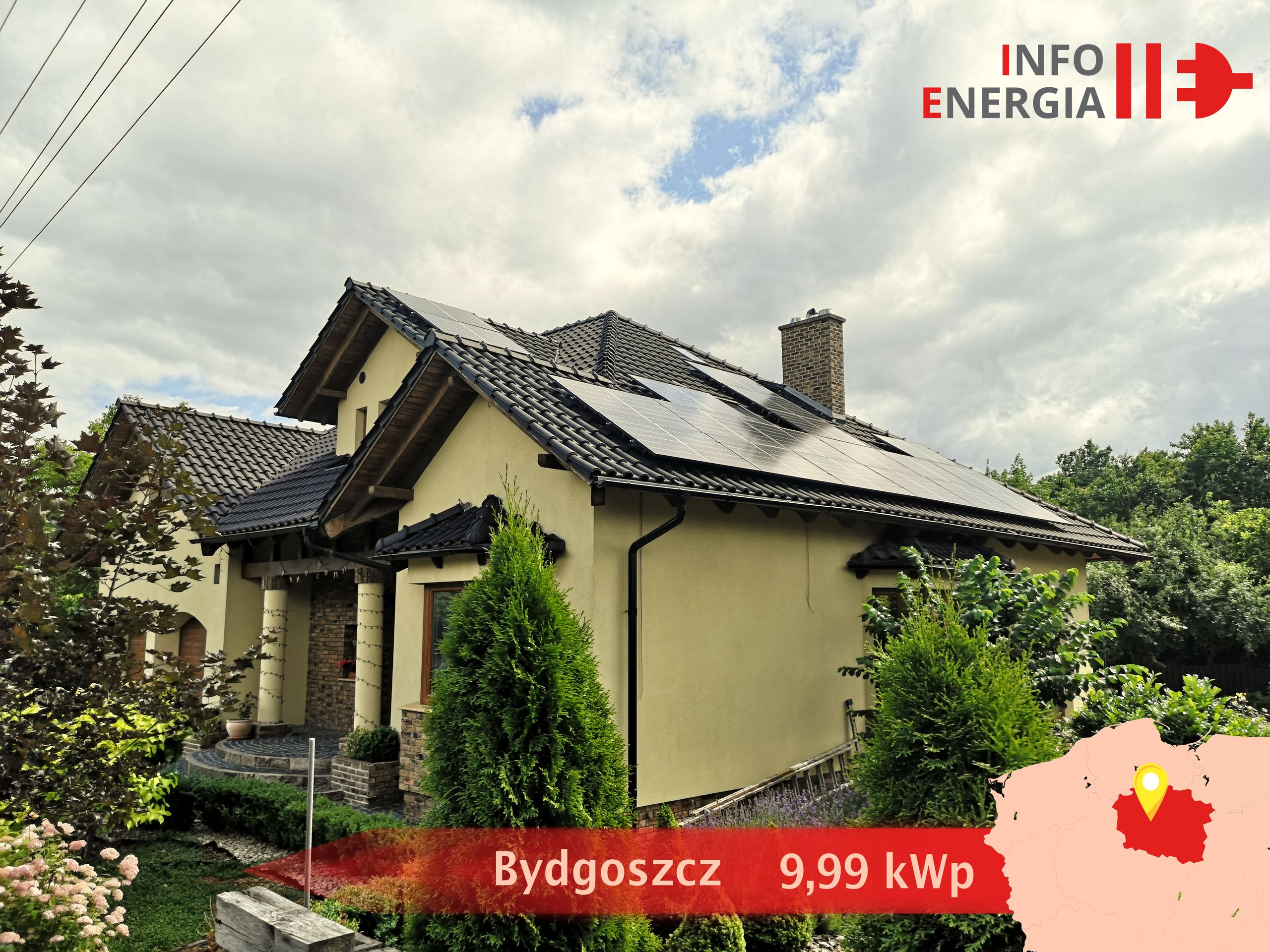 Fotowoltaika Bydgoszcz. Instalacje fotowoltaiczne i pompy ciepła Bydgoszcz