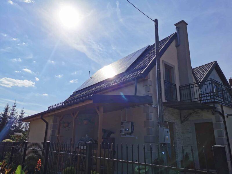 Instalacje fotowoltaiczne w Kwidzynie. Montaż dom jednorodzinny
