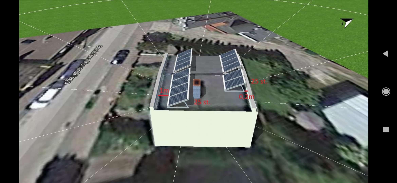 Projekt instalacji, wizualizacja, fotowoltaika kwiidzyn, rolnicy, spółdzielnia, firma